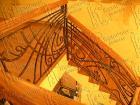 Кованая лестница № 8