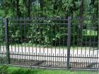 Кованый забор № 10