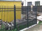 Кованый забор № 6