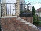 Кованая лестница № 11