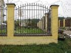 Кованый забор № 8