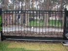 Кованые ворота № 9