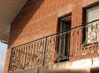 Кованый балкон №16
