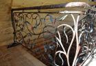 Кованая лестница № 28