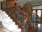 Кованая лестница № 16